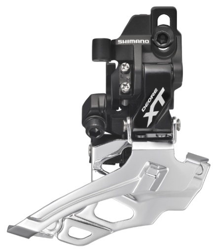 MENJAČ PREDNJI SHIMANO DEORE XT FD-M786D-L, DOWN SWING, DUAL PULL, DIRECT MOUNT TYPE, FOR 38/44T, CS ANGLE 66-69, BLACK, IND.PACK