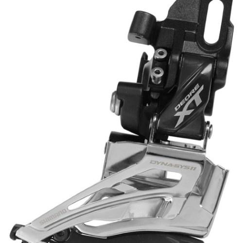 MENJAČ PREDNJI SHIMANO DEORE XT FD-M8025-D, DOUBLE, FOR 2X11, DIRECT MOUNT, DOWN SWING, DUAL PULL, CS ANGLE 66-69, IND.PACK