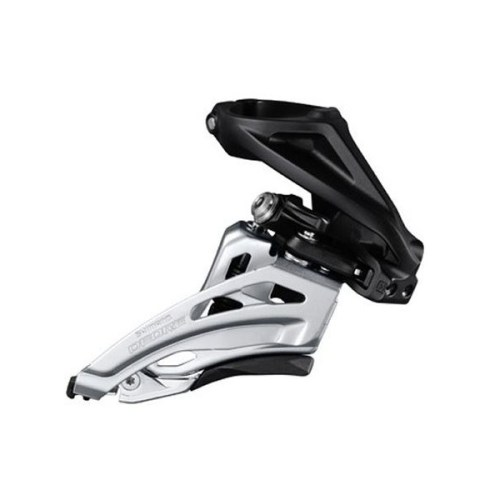 MENJAČ PREDNJI SHIMANO DEORE FD-M6020-H, DOUBLE, FOR REAR 10 BRZINA, HIGH CLAMP, SIDE SWING, FRONT PULL, BAND TYPE 34.9MM (INCL. ADAPTOR 28.6MM & 31.8MM), CS ANGLE 66-69, FOR TOP GEAR 34-38T, IND.PACK