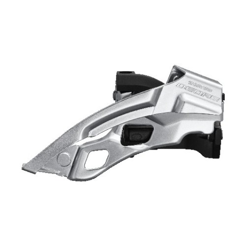 MENJAČ PREDNJI SHIMANO DEORE FD-T6000-L-6, TRIPLE, FOR REAR 10 BRZINA, LOW CLAMP, TOP SWING, DUAL PULL, BAND TYPE 34.9MM (INCL. ADAPTOR 28.6MM & 31.8MM), CS ANGLE 66-69, FOR TOP CHAINRING 44-48T, BLACK, IND.PACK