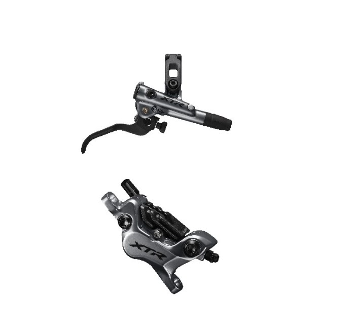 KOČNICA SHIMANO XTR, BL-M9120(R), BR-M9120(R), W/O ADAPTER, RESIN PAD(W/FIN), SM-BH90-SBM 1700MM(BLACK), ADD OLIVE/CONNECTER INSERT, IND.PACK