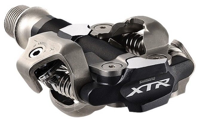 PEDALE SHIMANO XTR PD-M9000, SPD, W/O REFLECTOR, W/CLEAT SM-SH51, IND.PACK
