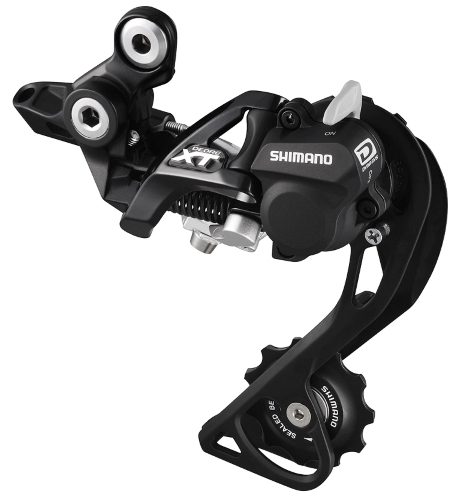 MENJAČ ZADNJI SHIMANO DEORE XT RD-M786-GS, 10 BRZINA, TOP-NORMAL SHADOW PLUS, DIRECT ATTACHMENT (DIRECT MOUNT COMPATIBLE), CRNI, IND.PACK