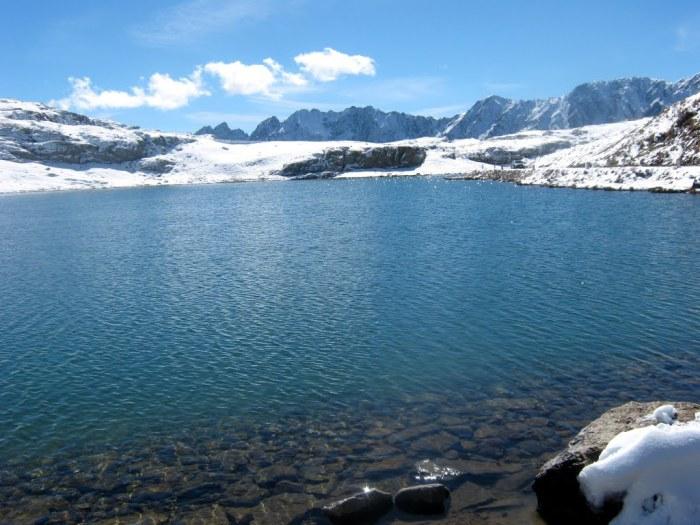 Versione invernale del Lago Bianco (mapio.net)