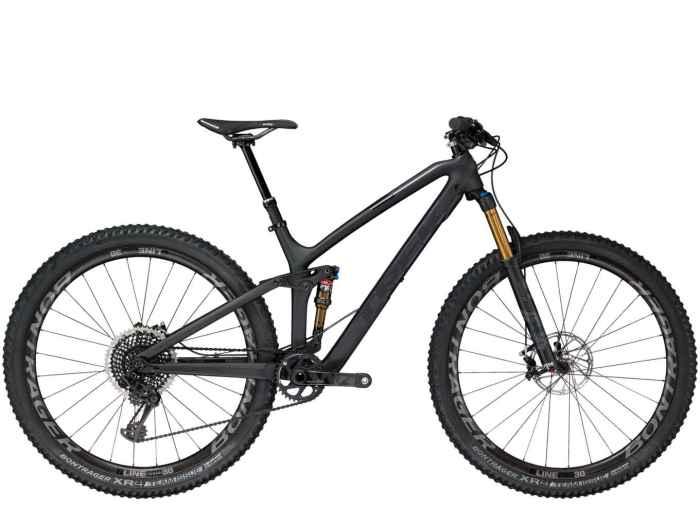 La trail bike Trek Fuel EX 9.9 (trekbikes).