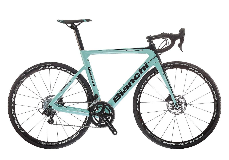 Bici da corsa Bianchi Aria Disc con Campagnolo Potenza (bianchi.com)