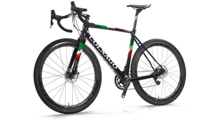 La Colnago Prestige utilizzata dal campione del mondo di ciclocross Wout Van Aert (colnago.com)