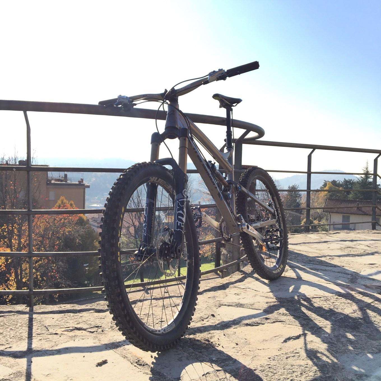 La Transition Covert 26 su cui ha pedalato il nostro tester a Monte Boletto (Daniele Russo)