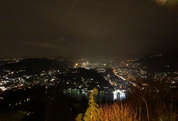 Como vista da Brunate di notte (Marcello Vaglia ph.)