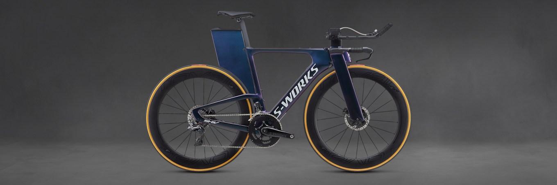Foto della bicicletta da triathlon Specy S-Works Shiv Disc Limited Edition (website specialized.com)