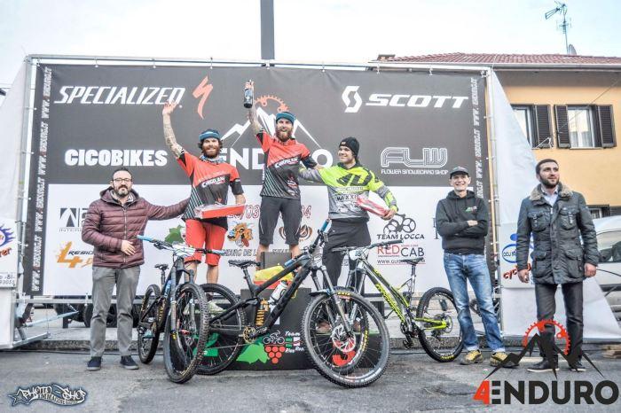 I fratelli Lupato sul podio a Rive Rosse (foto dal sito lupatobrotherrs.com)