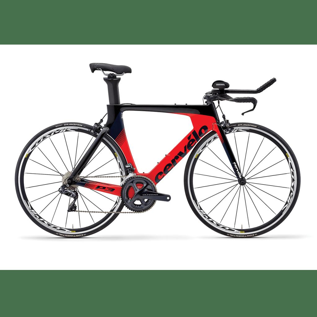 Immagine della bici da cronometro e triathlon Cervélo P3 (focuitaliagroup.it)