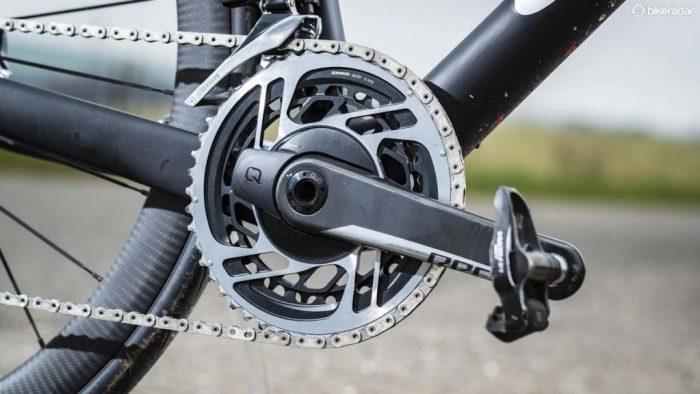 Immagine della guarnitura AXS (foto tratta dal sito web bikeradar.com)