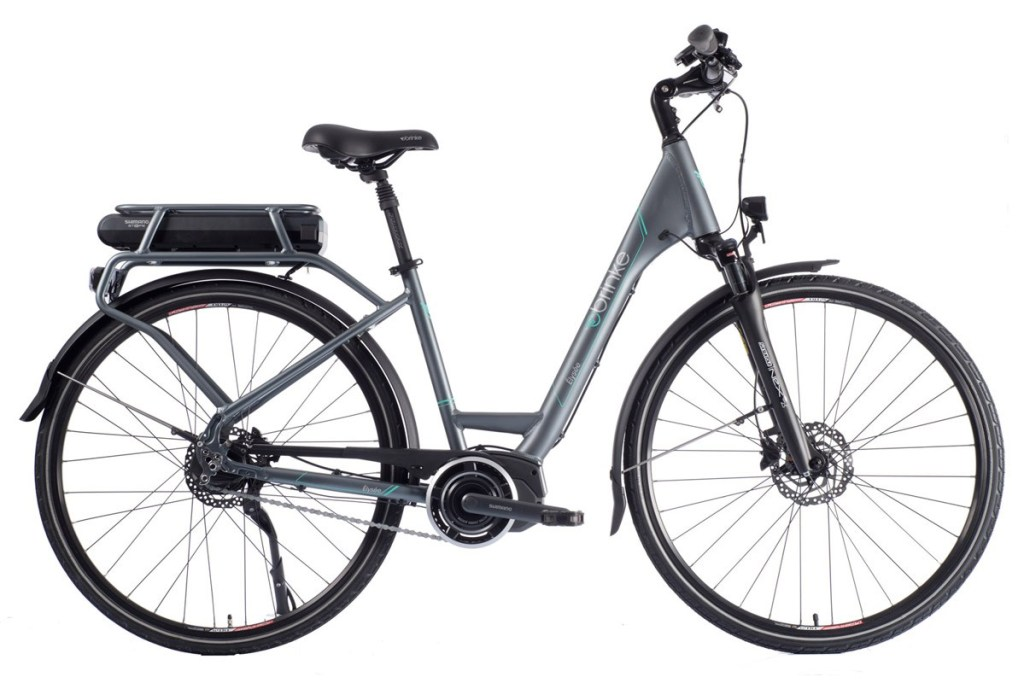 Foto della bici elettrica da città Elysée Evo Di2 (brinkebike.com link photo)
