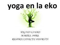 yoga en la eko
