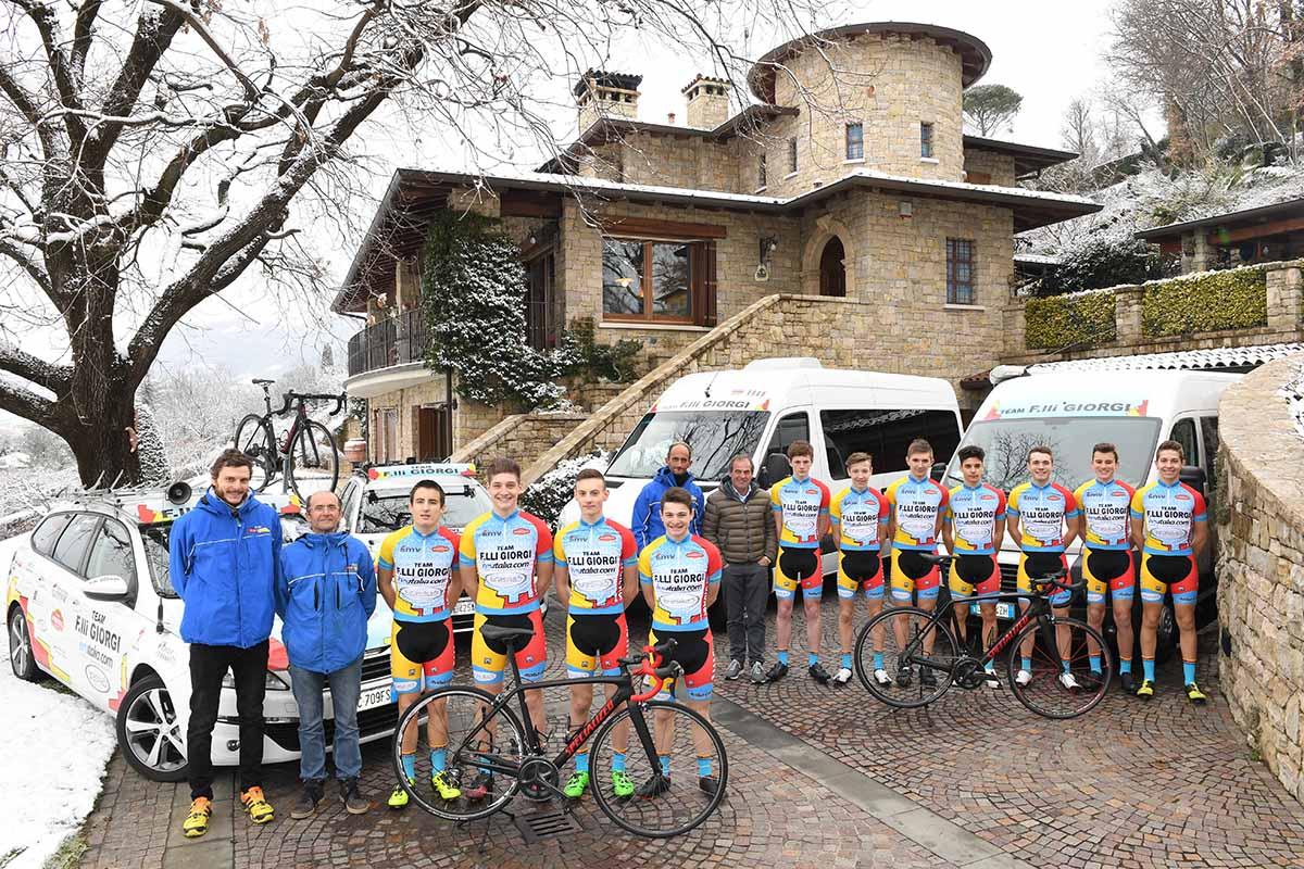 Team Flli Giorgi, Squadra Allievi 2018  Bicitv Ciclismo