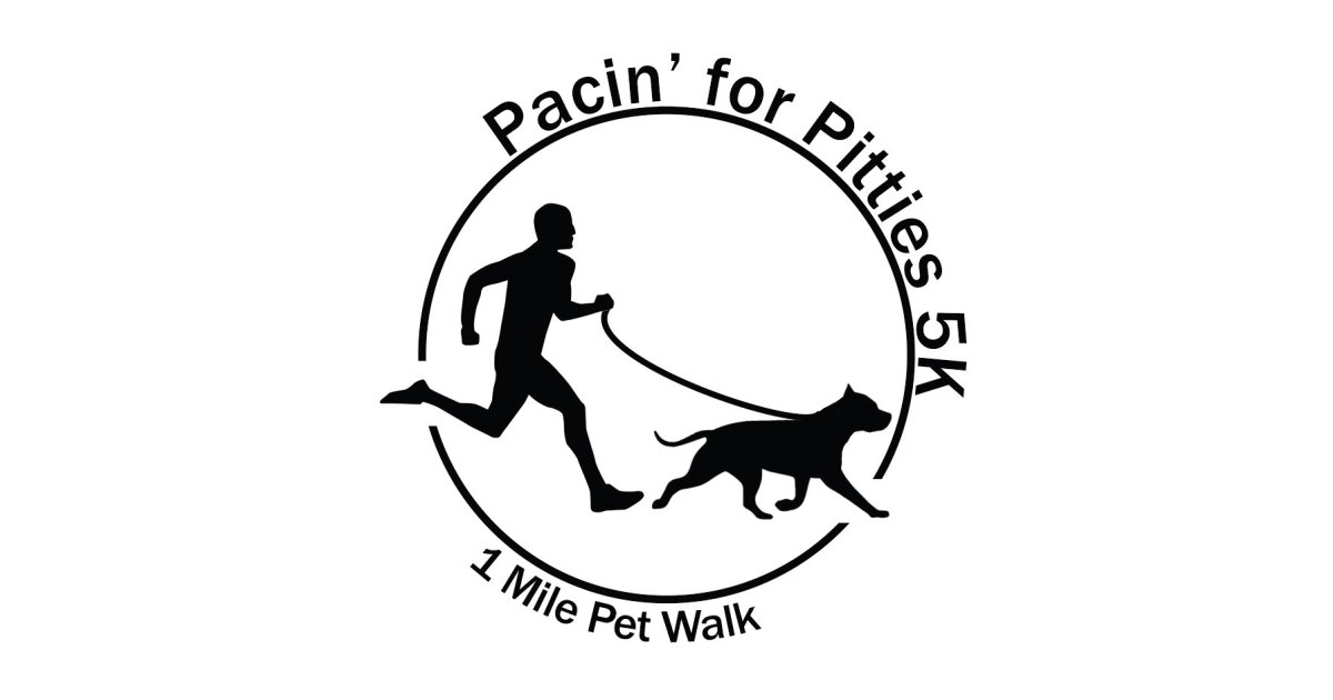 Pacin' for Pitties 5K Run/Walk CERTIFIED/TIMED Online