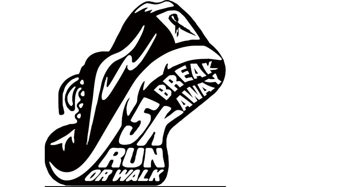 Break Away 5K and 1 Mile Fun Run/Walk