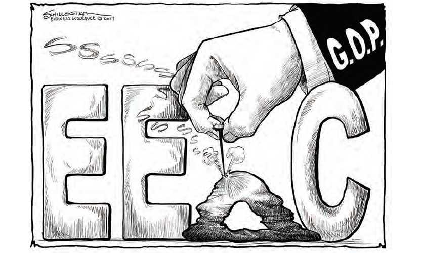 Court reinstates EEOC pay suit against insurance regulator