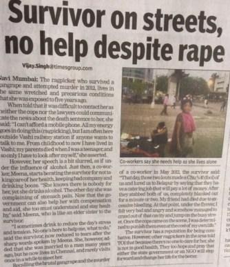 Rape survivor New Mumbai