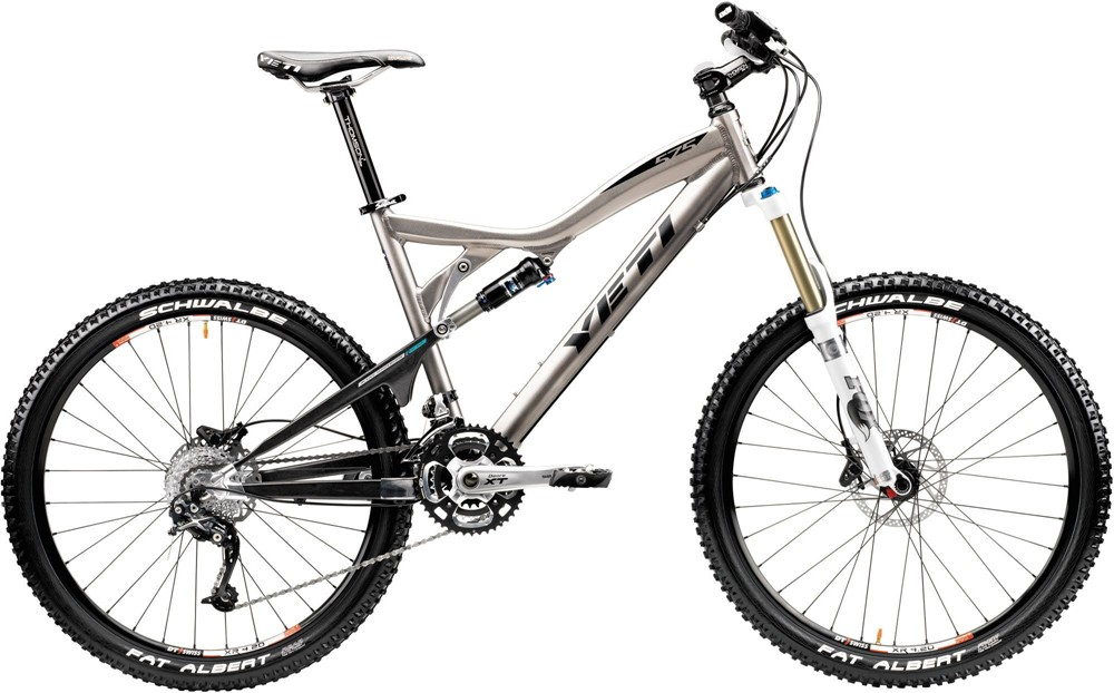 2010 Yeti Cycles 575 (Carbon Swingarm, Pro Build Kit