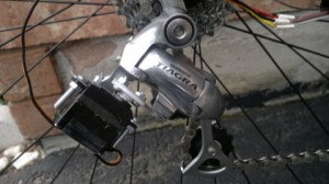 DIY electronic rear derailleur