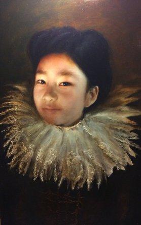 Jonnny Kelson Ella, 2015 [JK.16] Oil on Canvas24 x 15 in.*SOLD
