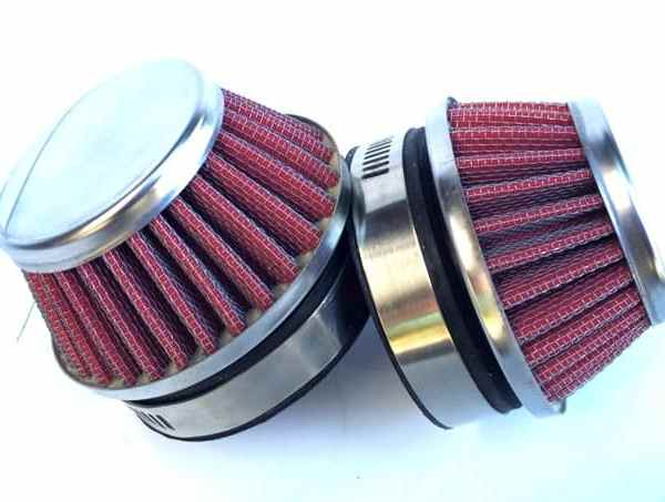 Racing Carb Filters Red 2