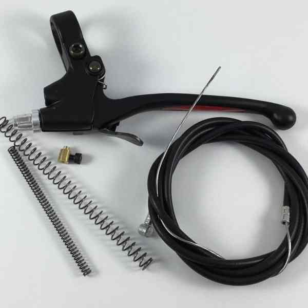 Extra-Long Clutch Lever, Cable, Springs + HD Lock Combo 1