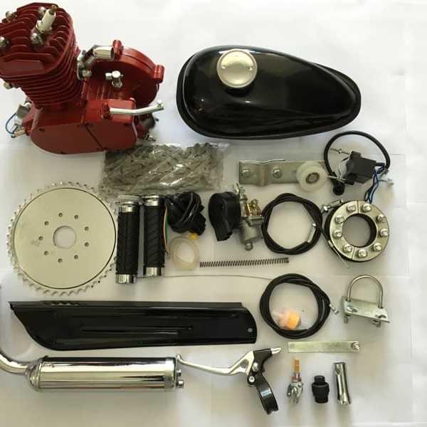 Standard Red 66cc Bike Engine Kit