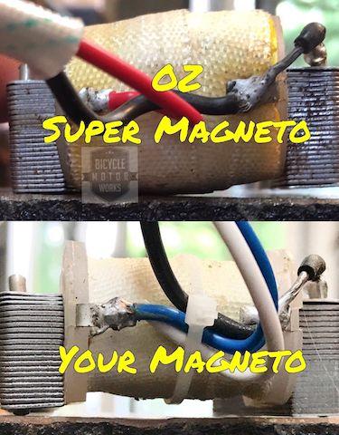 OZ Super Magneto – Bicycle Motor Works