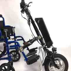 Wheelchair Motor Hanging Bubble Chair With Stand Electric Attachment Bicycle Works