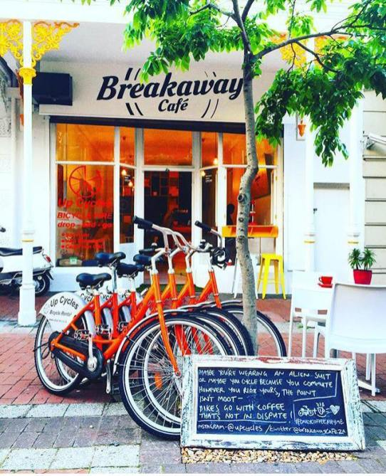 Breakaway Cafe & Up Cycles