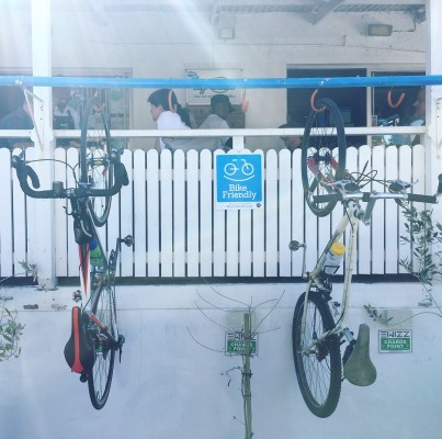 Bike Friendly Darios Cafe