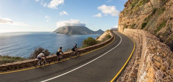 Chapman's Peak drive. © Cape Cycle Routes