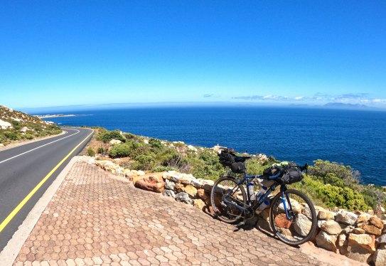 Clarence drive, spectacular views of false bay