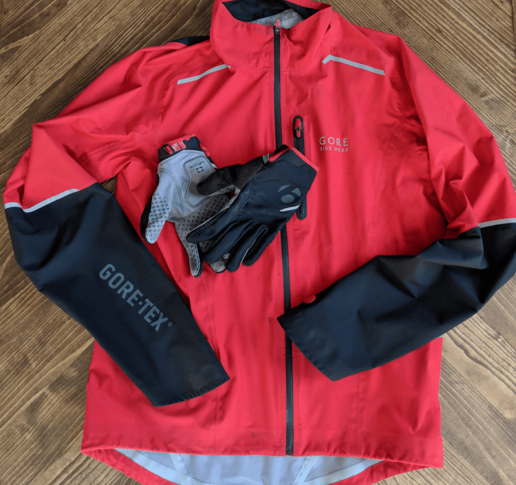 Jacket and Gloves