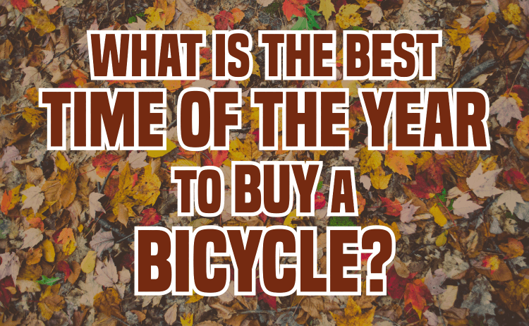 Best Time of Year to Buy a Bicycle