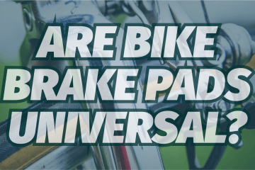 Are bike brake pads universal?