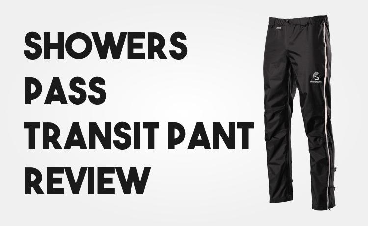 Showers Pass Transit Pants Review