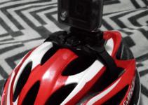 Helmet with camera - small
