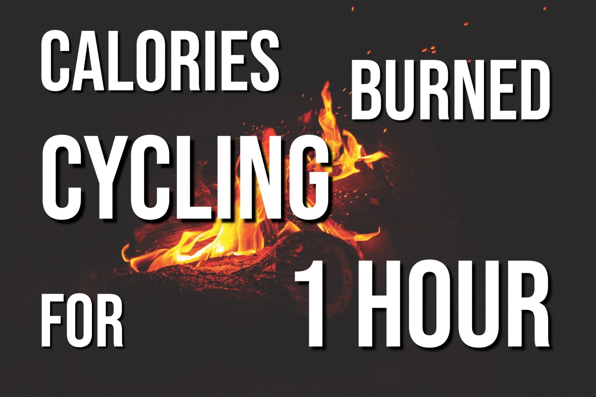 Calories Burned Cycling For 1 Hour