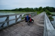 One more photo of my bicycle on a bridge