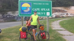 Only 15kms until the most eastern point in North America