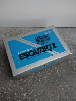 MKS Esquartz pedals with toe clips