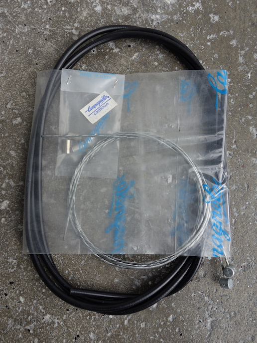 Full set of Campagnolo MTB brake cables with black housing