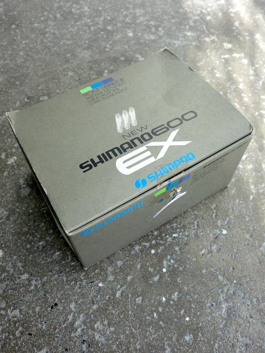 Shimano 600 6207 front road mech