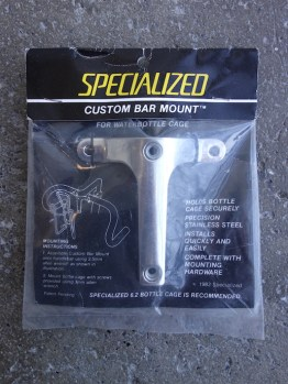 Specialized 1980s Custom bar mount for water bottle cage