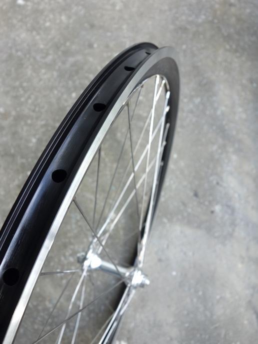 650B rim brake wheels for road or mountain bikes