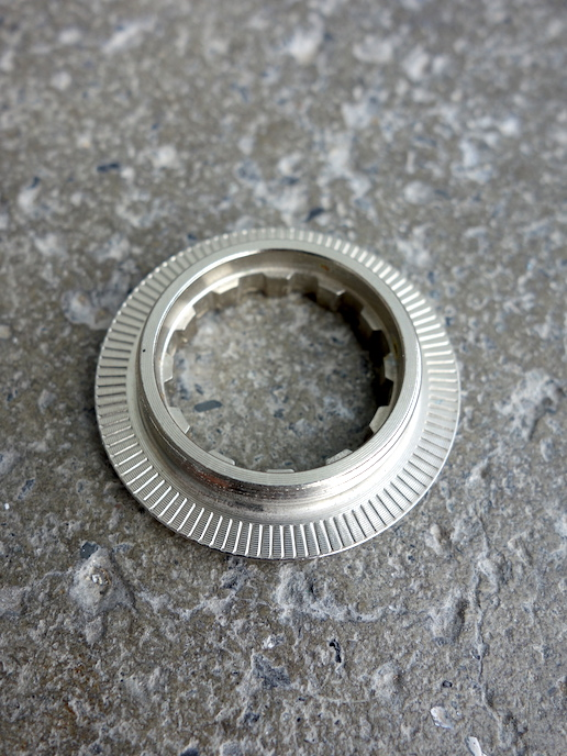 NOS Campagnolo 8 speed cassette lockring